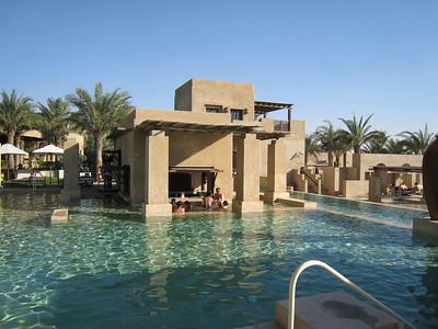 """""""Swim up bar"""" at the pool"""