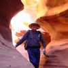 Alan explores the canyon