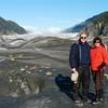 Alan and Donna Hull at Baird Glacier