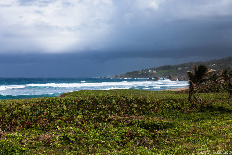 Stormy Skies over the Beach