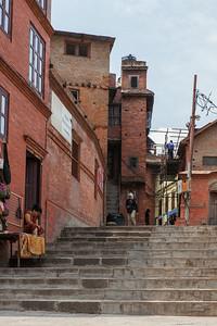 Swayambhunath Side Street