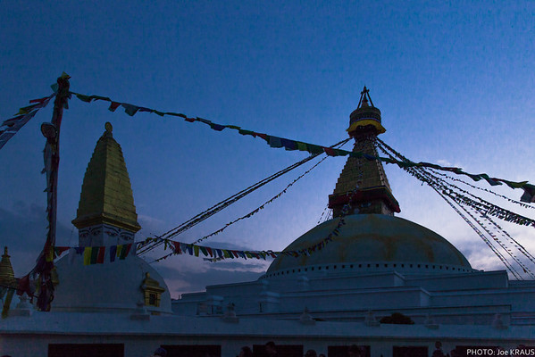 Boudhanath Sunset