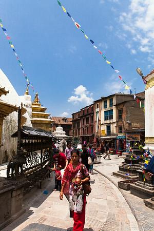 Walking Around the Stupa