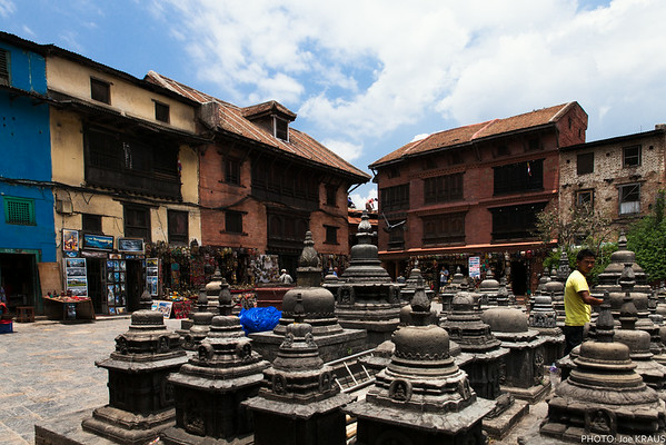 Be buildings around Swayambhunath