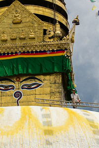 Maintaining Swayambhunath