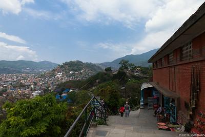Kathmandu Hills From Swayambhunath