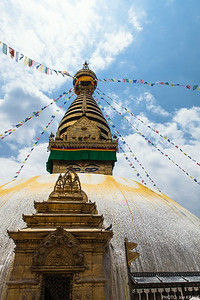 Stupa Looking Up