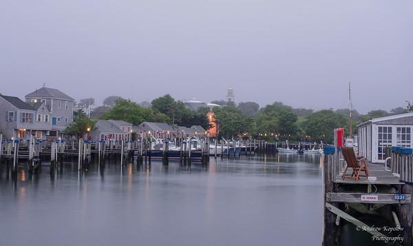 Docks & Fog