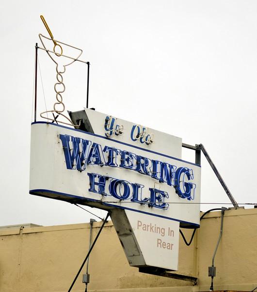 The local watering hole in Santa Cruz, CA.