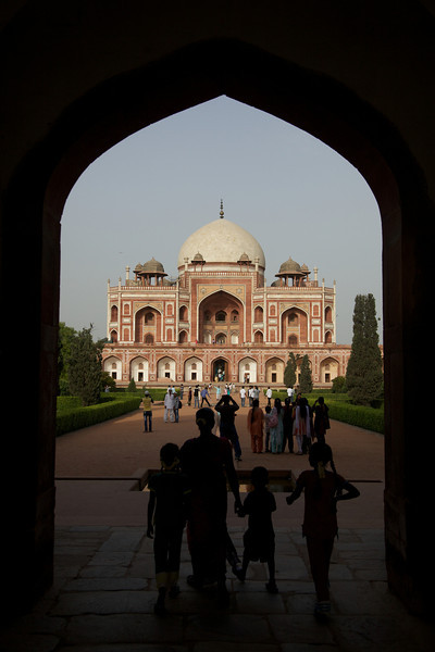 Humayun's Tomb.  UNESCO World Heritage Site.
