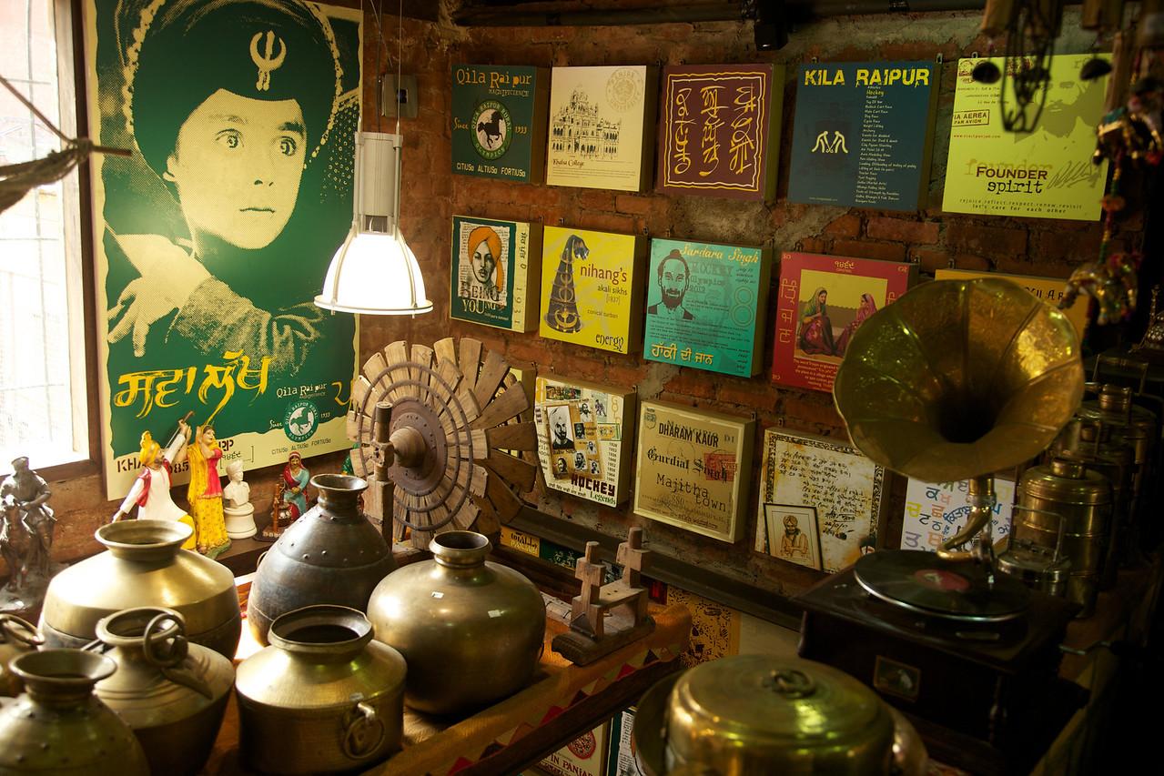 Funky Punjabi store