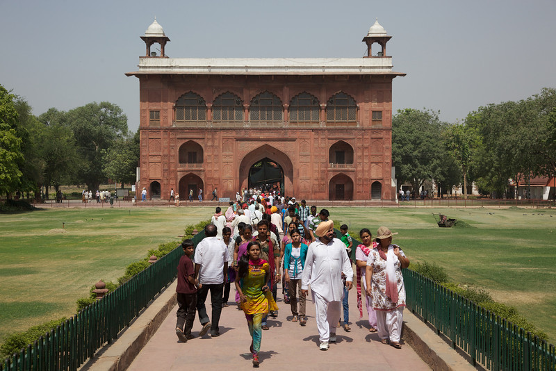 The Red Fort was the palace and residence for Mughal Emperor Shah Jahan's new capital, Shahjahanabad (present day Old Delhi). He moved his capital here from Agra.