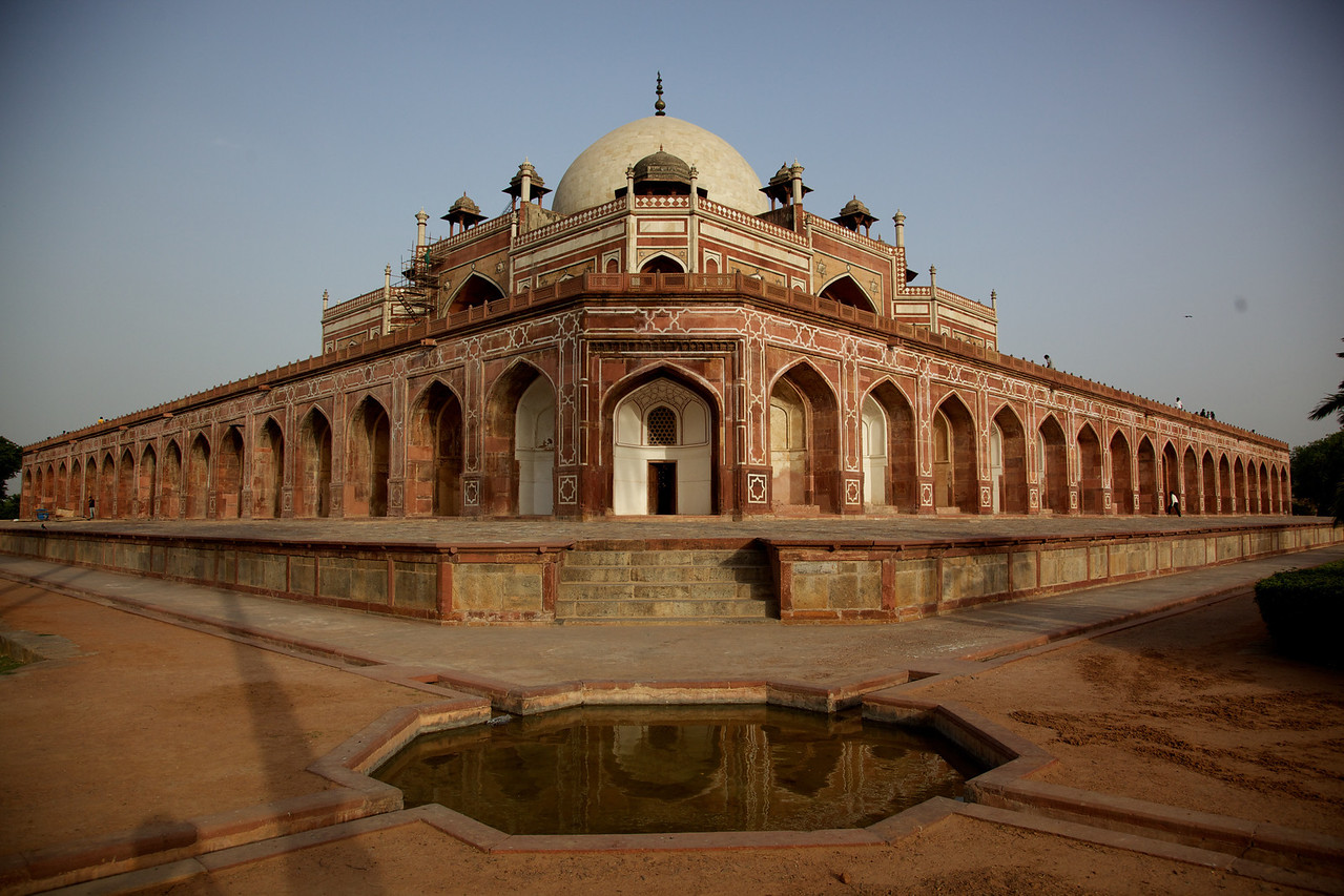 The tomb is the first garden tomb on the Indian subcontinent.  It was considered a breakaway from traditional Mughal architecture and set a precedent for subsequent Mughal architecture including the Taj Mahal.