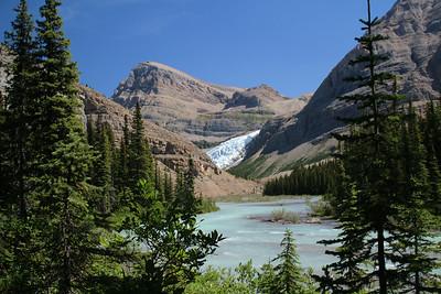 Mist Glacier and Robson River..