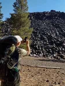 Returning to the area of huge piles of volcanic rock