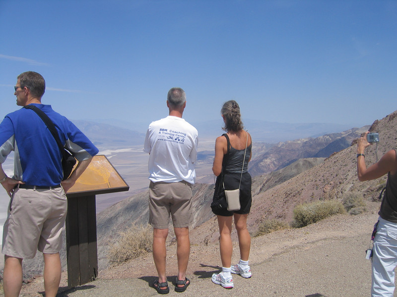 Brad and Bonnie admiring the view. Bonnie knew so much about the area and history that she was a great tour guidel.