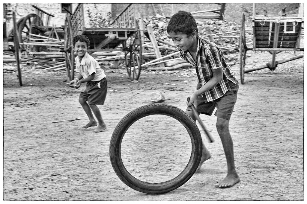The simple pleasures of childhood!