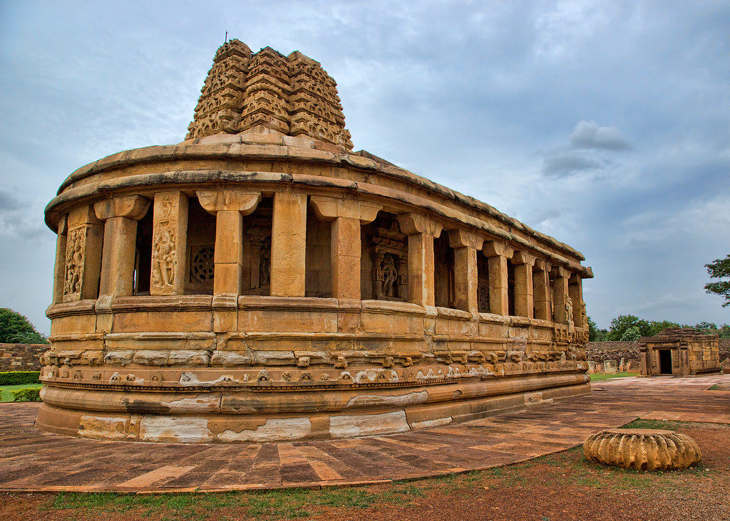 Aihole is one of the cradles of ancient Hindu Temple Architecture.
