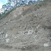 """Some erosion of the hill, which we saw a lot of signs of """"DANGER-landslides"""".. <a href=""""http://www.abs-cbnnews.com/nation/regions/10/09/09/close-100-buried-alive-benguet-landslide"""">http://www.abs-cbnnews.com/nation/regions/10/09/09/close-100-buried-alive-benguet-landslide</a>"""
