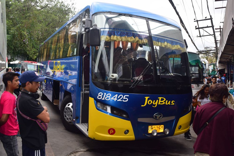 Getting to Baguio on the Joy Bus