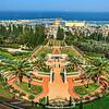Baha'i Garden and Golden Dome - Haifa