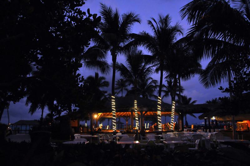 Wyndham Resort in evening - February 2011