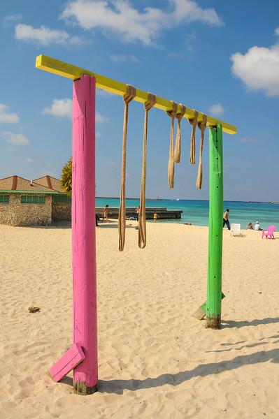 Along a beach outside of Nassau - February 2011