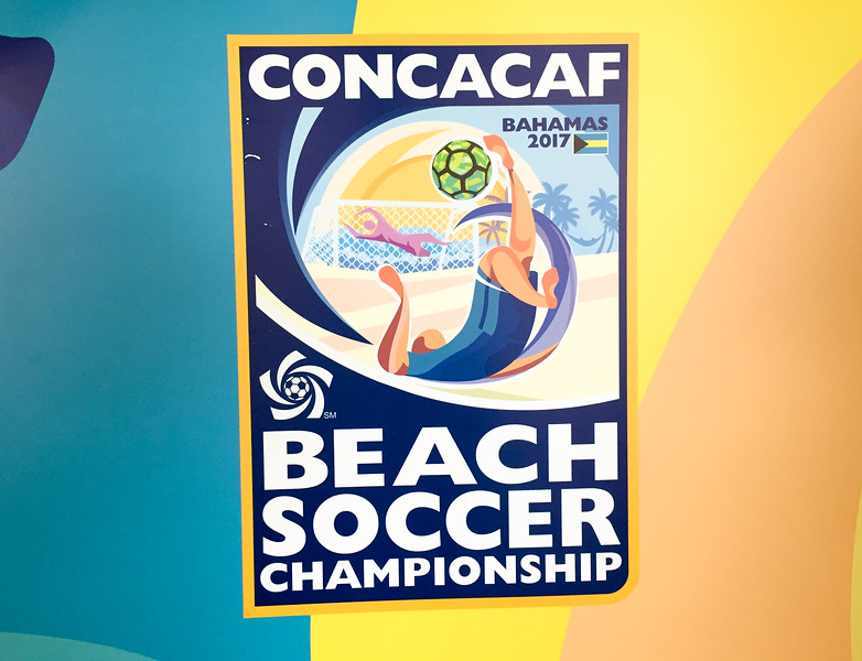 The Breezes Resort was hosting several professional beach soccer teams while they played in the CONCACAF Championship in Nassau, Bahamas.