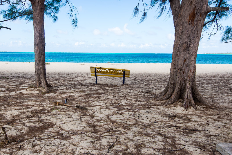 Views along Cable Beach, Nassau, Bahamas - February 2017