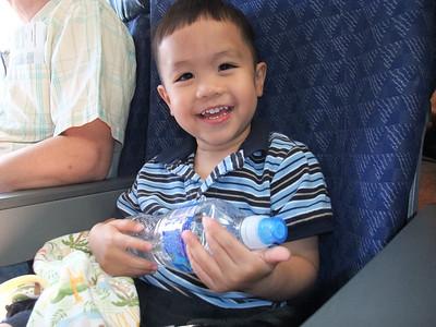 9:30AM Alan's first flight!