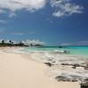 A beach right behind Santana's