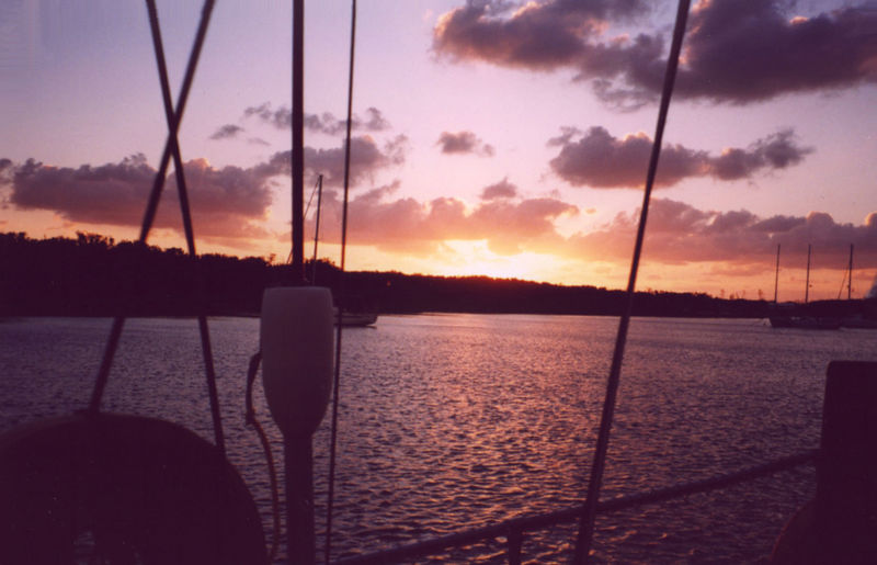 Bahamian sunrise