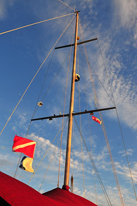 © Joseph Dougherty. All rights reserved.  Mast of the Morning Star.