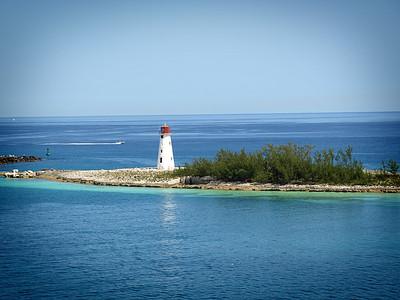 Hog Island Lighthouse, Nassau, Bahamas  Order Code: A33