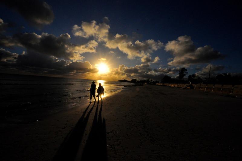 Bryce Lafoon Photography of Holden Beach NC captures a beautiful sunset on the Grand Bahama Island, Bahamas.