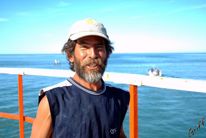 Some Mexican fisherman I met on the pier.