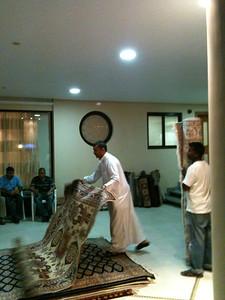Abdul the rug merchant!