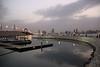 View of Manama skyline from Prince Khalifa bin Salman park