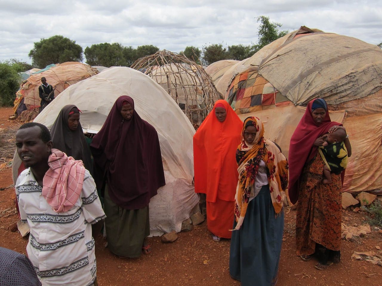 Third IDP camp