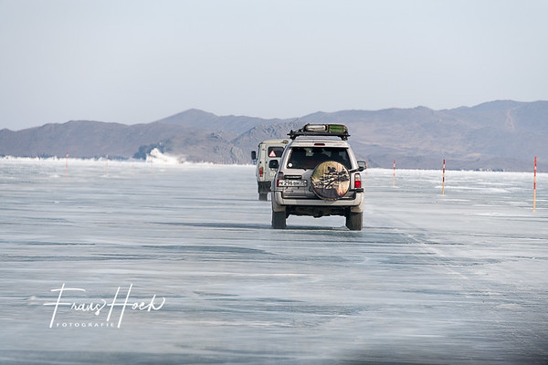 Driving over 1 meter ice