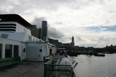 Bainbridge Island Ferry Seattle - June 2012