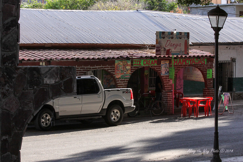 San Ignacio 5348<br /> Small café off the mail plaza in San Ignacio in Baja California.