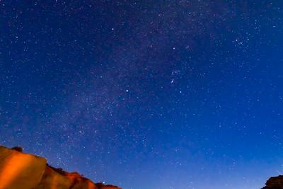 The night sky in the Baja.