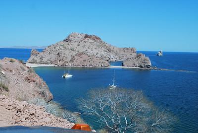 Agua Verde - a favorite spot for sailors