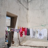 a roof would only slow the process of drying clothes