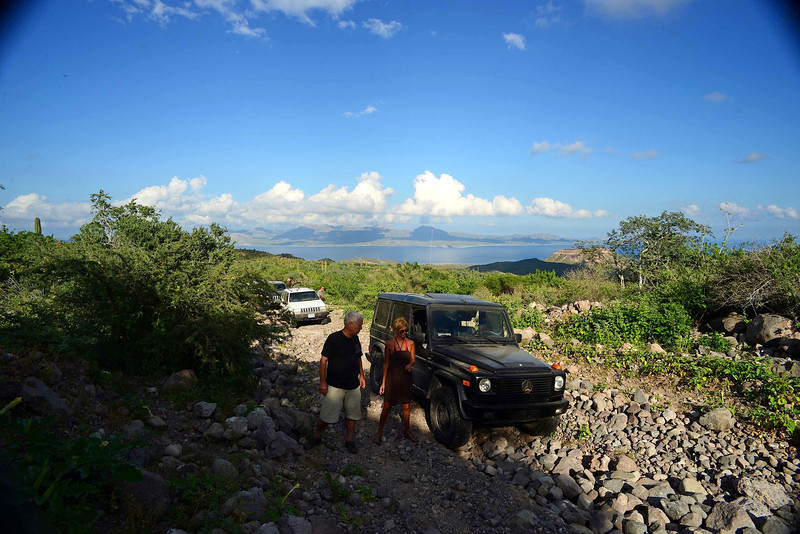 we had to stop a few times to stack some rocks - that's cheaper than fixing a broken car