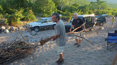 when you ask guys to bring firewood - they most likely will bring a few trees (must be a genetic imprint) women bring enough little sticks to cook a meal