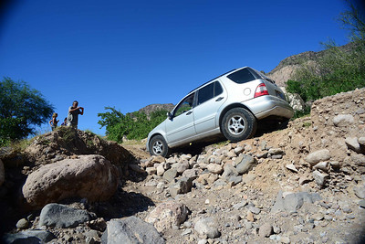 "the ML barely made it - but ""barely"" is sufficient in Baja"