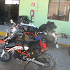 DAY 4  getting ready to head to Coco's<br /> KTM 1190 ADV R and little brother 690R