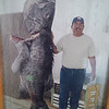 My friend Toto.  a fishermaen out here for years... not photo shopped pic.